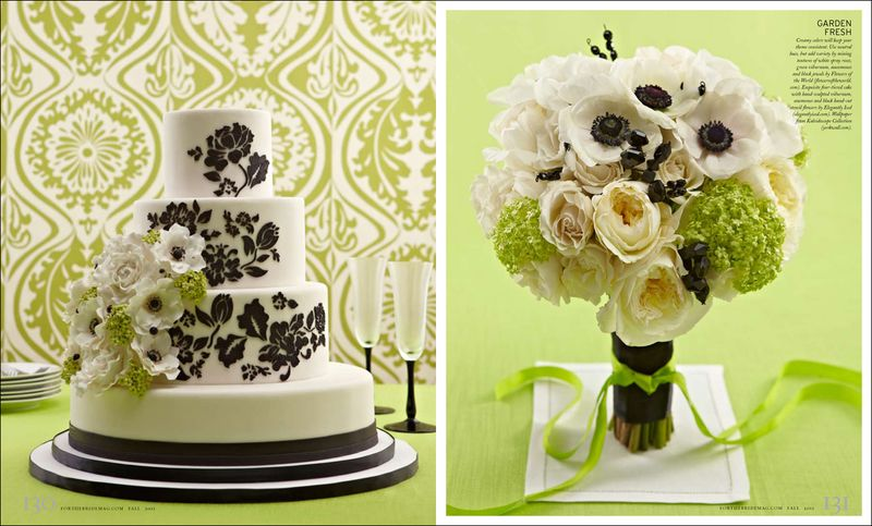 Black_white_wedding_cake_bouquet