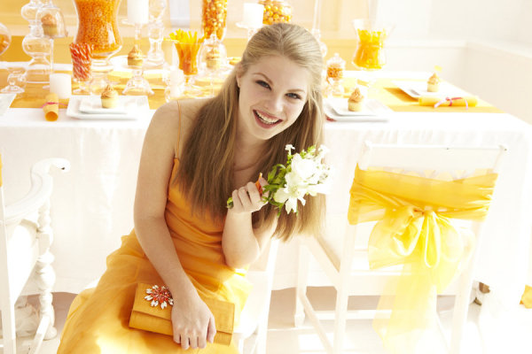Tangerine_bridesmaid