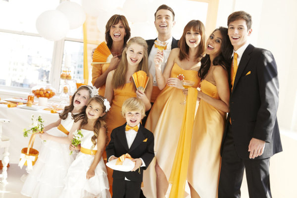 Tangerine_wedding_party